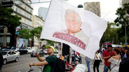Linkse presidentskandidaat Lopez Obrador haalt absolute meerderheid bij presidentsverkiezingen