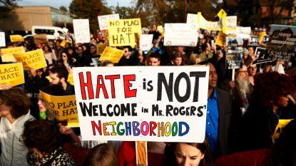 """Aantal haatmisdrijven in VS steeg in 2017 met 17 procent: """"Oproep tot actie"""""""