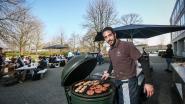 Daar is de lente, daar is de eerste barbecue