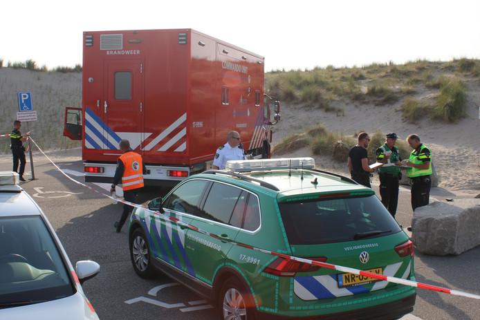 Hulpdiensten komen massaal naar de Tweede Maasvlakte.
