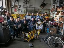 Bewoners Vonderhof in Eindhoven bouwen bijzondere fietsen