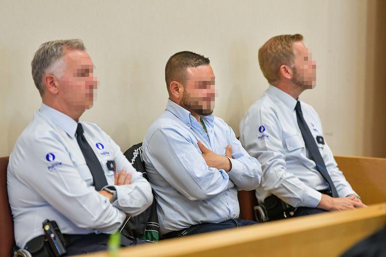 Beschuldigde Roberto S. (38) uit Genk.
