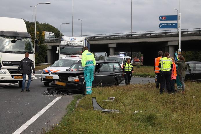 Grote verkeershinder na ongeval in Apeldoorn.