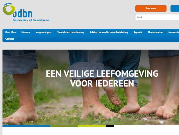 De website van de ODBN.
