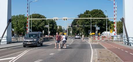 Fietsers en voetgangers zijn het haasje na aanpassing bij Ringbrug in Goes