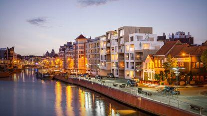 """Kaskade verfraait Handelskaai: """"26 appartementen met adembenemend zicht op Leie en later ook hier verlaagde Leieboorden"""""""