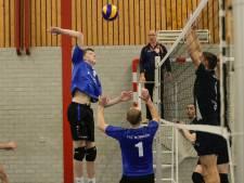 Er is geen peil te trekken op VTC, Woerdense volleyballers wisselen pieken en dalen af