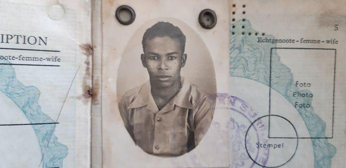 De Surinaamse militair Alwin Dors die als dienstplichtige in Nederlands-Indie vocht tijdens de Tweede Wereldoorlog