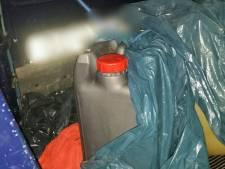 Ruim 2000 liter diesel in beslag genomen in Asten
