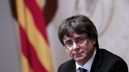 Waar is Puigdemont? Niemand weet het, 24 uur voor cruciale zitting Catalaanse parlement