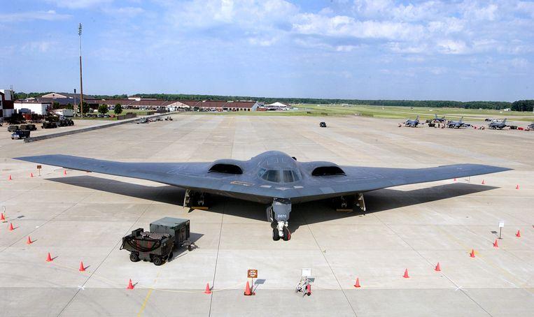 De VS hebben het afgelopen jaar onder andere de B-2 Stealth-bommenwerper naar Europa gestuurd, als antwoord op het Russische machtsvertoon in Europa. Beeld US Air Force