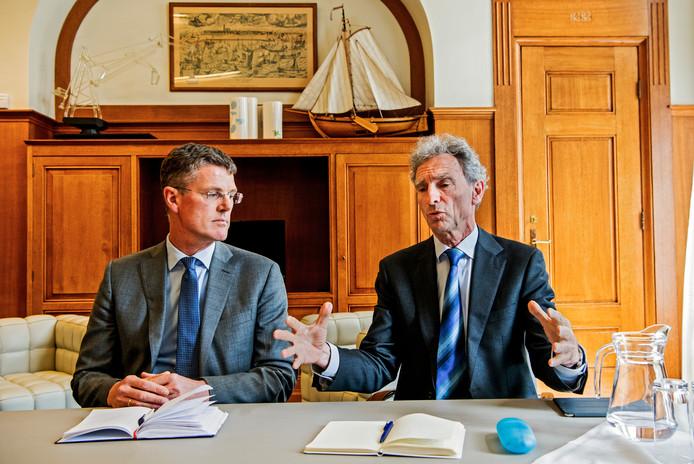 Informateurs Pieter Duisenberg (links) en Paul Rosenmöller.