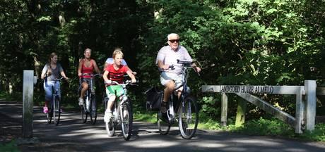 Zadelpijnparty na drie dagen fietsen in Almelo