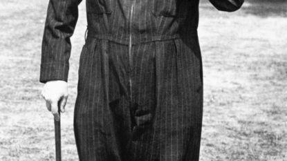 Zelfs Churchill droeg al een onesie