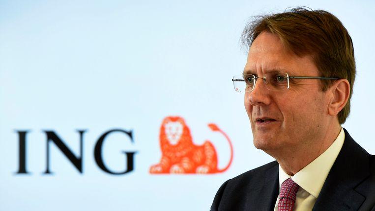 CEO Rik Vandenberghe van ING Belgium
