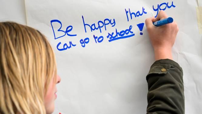 Bib en inwoners geven Blue Monday geen kans met '100 woorden positiviteit'
