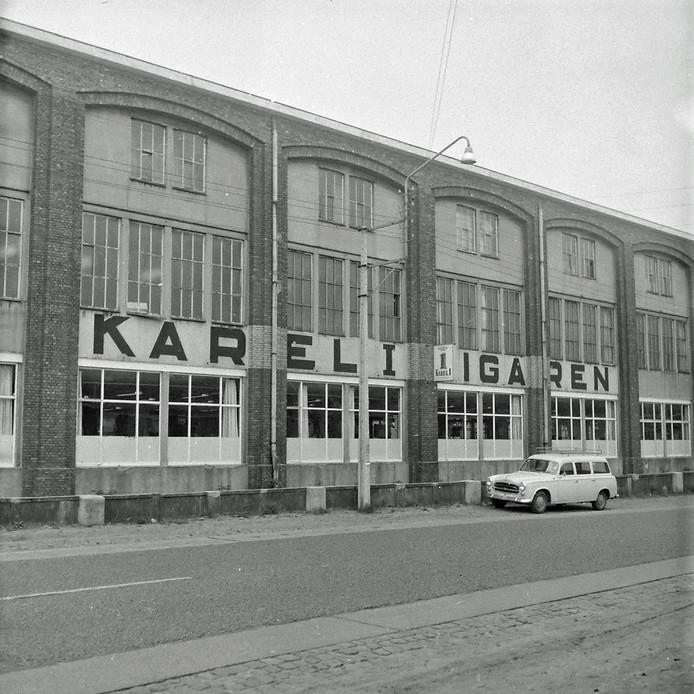 Sigarenfabriek Karel 1 van Van Abbe in Eindhoven.