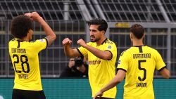 Dortmund pakt zuinige zege tegen Hertha: Witsel op de afspraak, ook Boyata speelt sterke partij