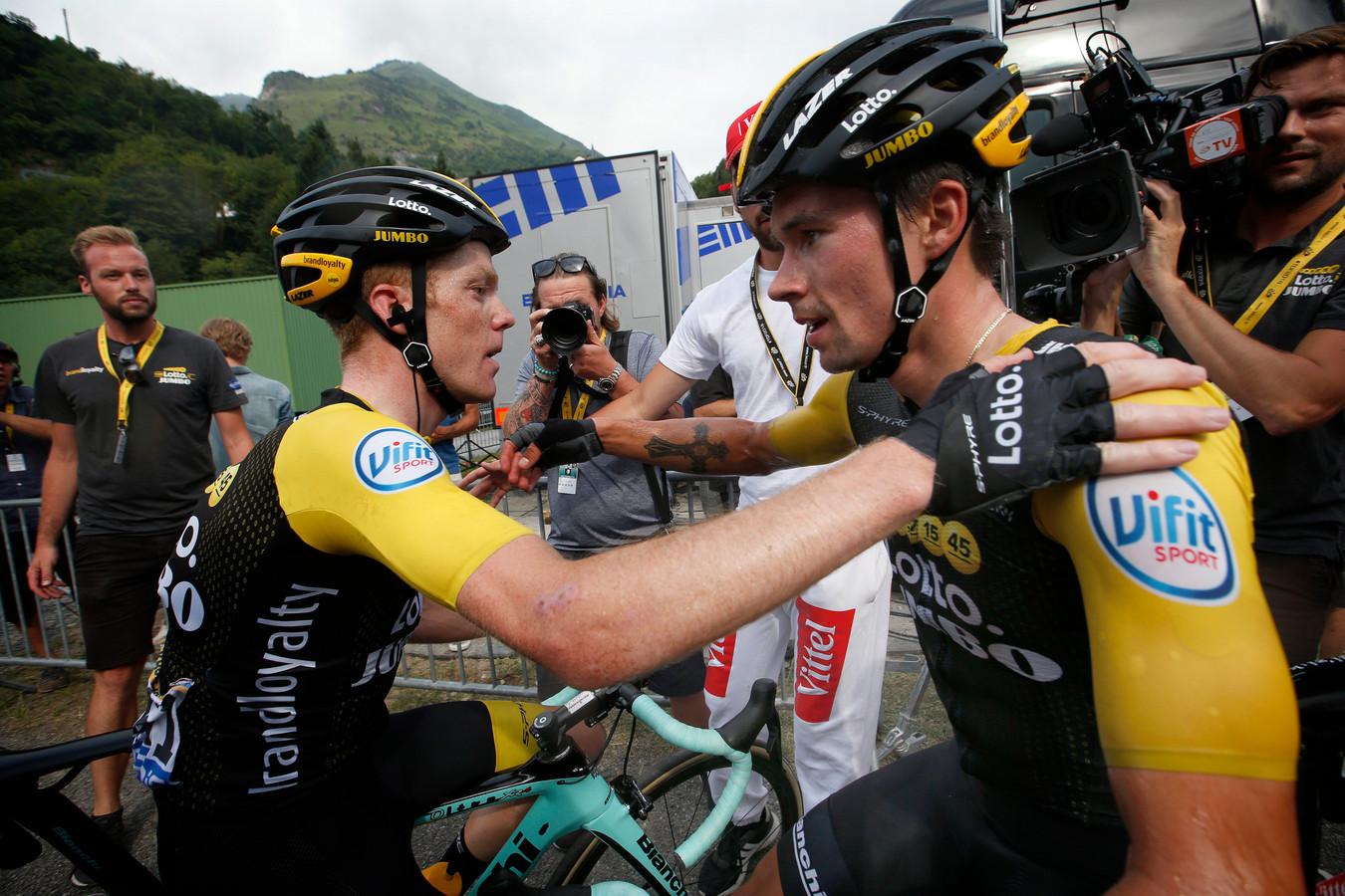 Met Steven Kruijswijk en Primoz Roglic heeft Jumbo-Visma al twee renners in huis die dit seizoen op het podium eindigden in een grote ronde.