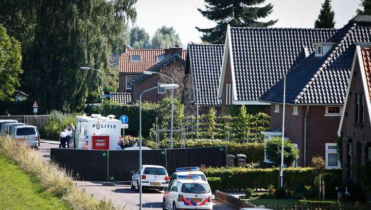 20 rechercheurs onderzoeken moordzaak in Gelders dorp Beeld anp