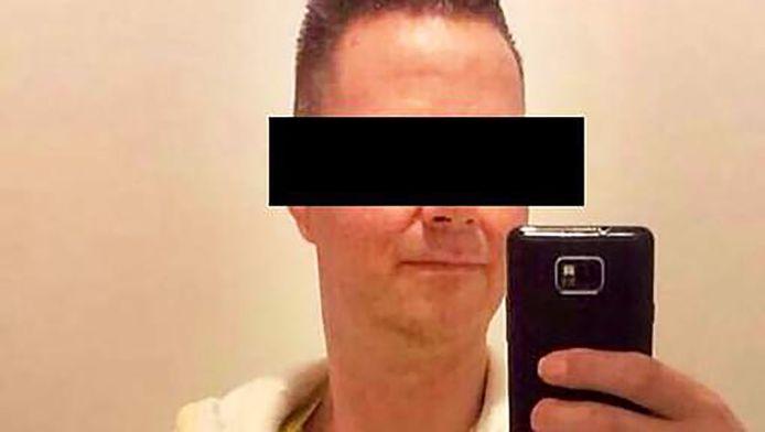 Verdachte Danny D. uit Koudekerk aan den Rijn.