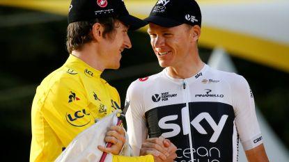 """Froome en Thomas laten verstek gaan voor WK: """"Ze eindigen hun seizoen in Ronde van Groot-Brittanië"""""""
