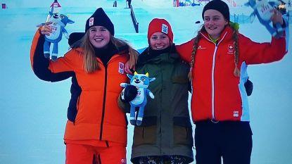 """Evy Poppe (15) na haar gouden medaille op de Olympische jeugdwinterspelen: """"Mijn olympische droom is nog groter geworden"""""""