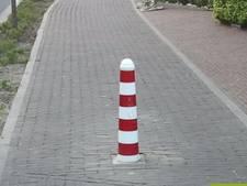 Gemeente verwijdert paaltjes om ongelukken te voorkomen