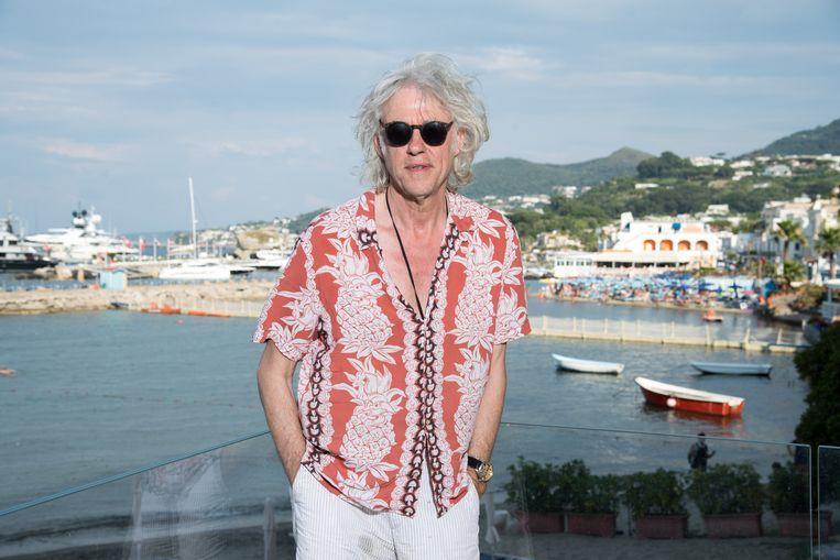 Bob Geldof vorig week tijdens een bezoek aan een filmfestival op het Italiaanse eiland Ischia. Beeld Getty