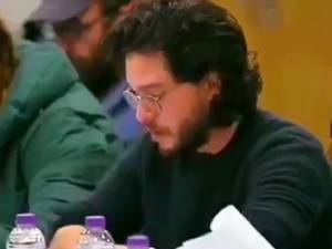 La réaction de Kit Harington à la lecture du dernier épisode de Game of Thrones