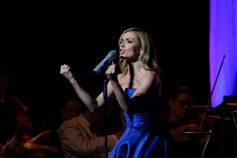 Katherine Jenkins uit Wales staat mede dankzij Patrick Hamilton op 1 in de Classical Album Charts in het Verenigd Koninkrijk.