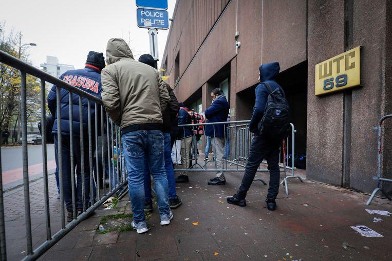 Drie dagen geleden werd de Dienst Vreemdelingenzaken nog een uur gesloten vanwege een daad van agressie.