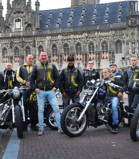 Motorclub uit Middelburgs café gezet