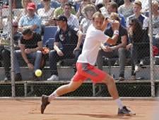 Eerste tegenslag voor tennissers Lewabo