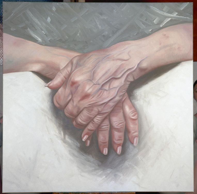 Mijn moeders handen, 2005 Beeld Ans Markus