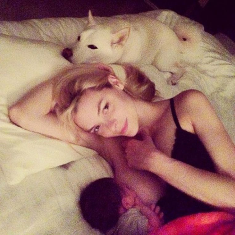 Jaime King, actrice. Beeld Instagram / Facebook