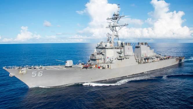Amerikaanse destroyer botst met tanker in de buurt van Singapore: 10 vermisten