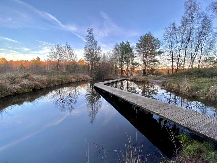 De Kikbeekvallei in Opgrimbie bestaat uit bronwater.