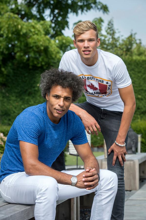 Sydney en Pierre van Hooijdonk.