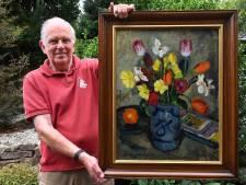 Schilderij uit Hongerwinter in Dieren teruggevonden