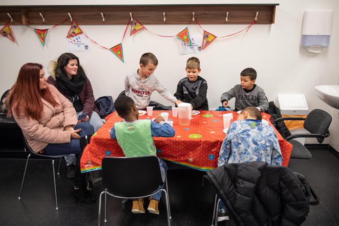 Een verjaardagsfeestje, opgezet door Verjaardag in de maak.