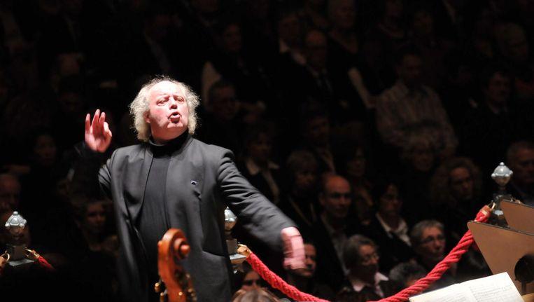 Dirigent Pieter Jan Leusink. Beeld Pieter Jan Leusink