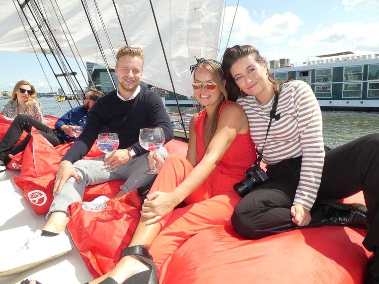 Bobby Kikkert (Baohuis), Naomi Louwerens (Authentic Chic Lifestyle) en Vivian Secrève (The Daily Dutchy):
