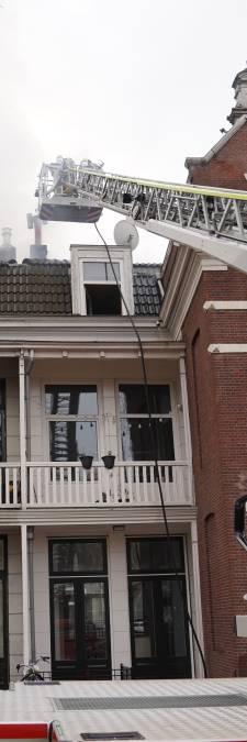 Bewoners historisch pand Noordsingel niet naar huis na brand