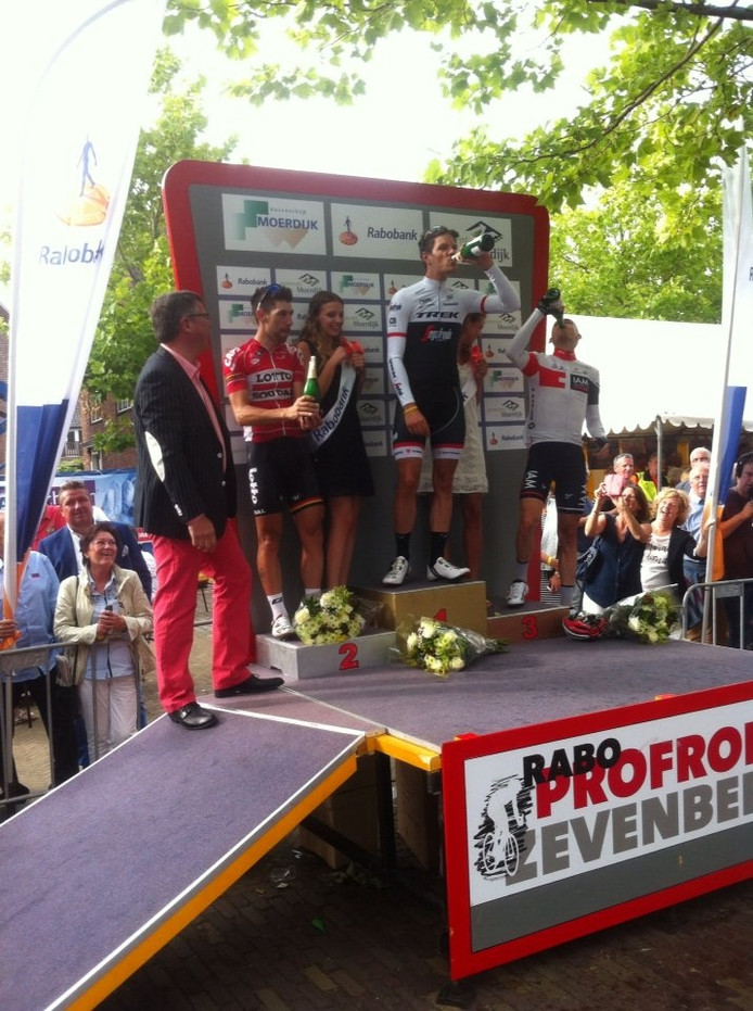 Jasper Stuyven won de Profronde van Zevenbergen.