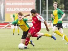 Schalkwijk loodst Goes met hattrick langs Huizen in KNVB-beker