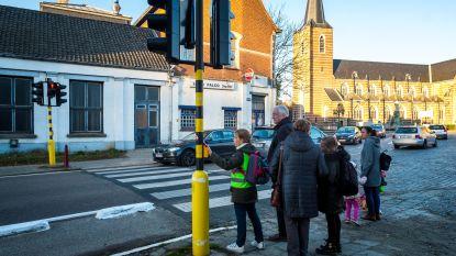 Drukknop loodst voetgangers voortaaan veilig over Hovesesteenweg