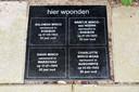 Aan de Snoeckgensheuvel  liggen de struikelstenen voor de omgekomen leden van het gezin Minco.