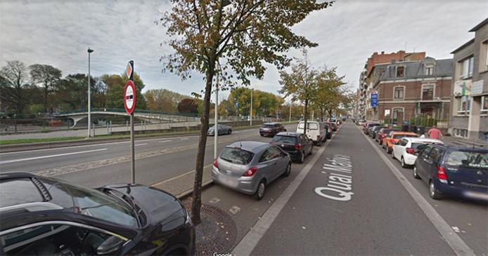 Capture d'écran: quai Mativa à Liège