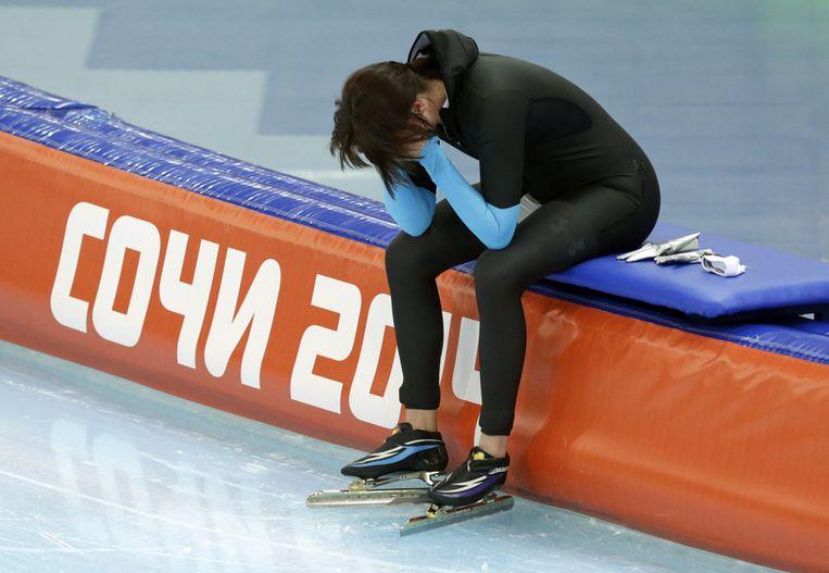 Richardson na haar 1500 meter Beeld ap